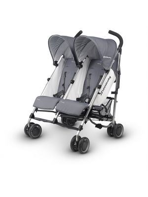 G-Link Double Stroller - Grey - Pascal