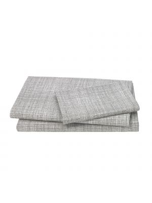 Crosshatch Twin Sheet Set