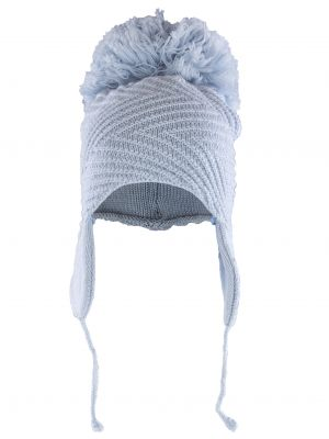Ava Pom Pom Hat - Dove Grey