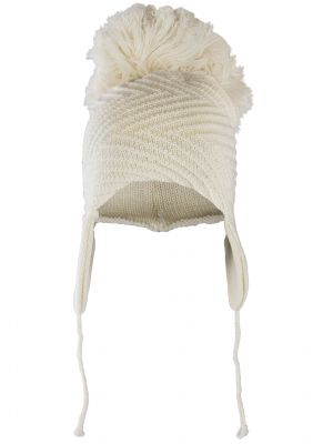 Ava Pom Pom Hat - Light Almond (cream)