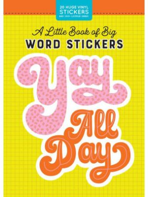Book Of Big Word Stickers
