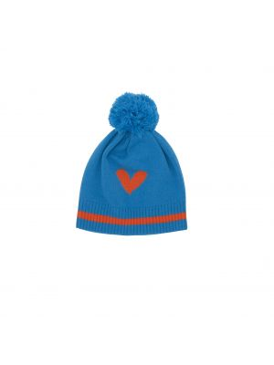 Love Heart Knit Hat