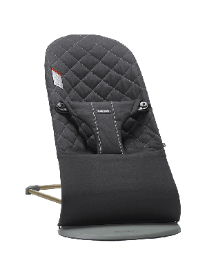 Bouncer Bliss Quilted-black