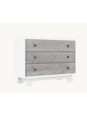 Pomelo 3 Drawer Dresser - Rustic Grey