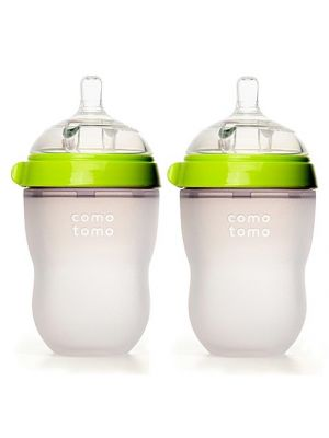 Natural Feel Baby Bottle Double 8oz