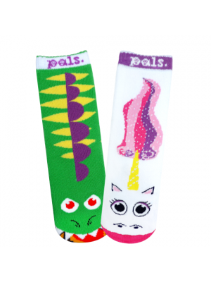 Dragon & Unicorn Pals Socks
