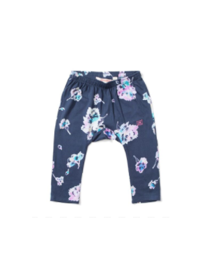Floral Twill Baby Pants