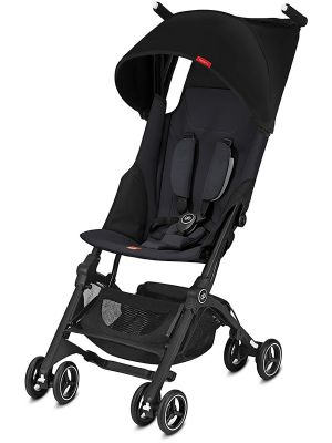 GB Pockit Plus Stroller - Black