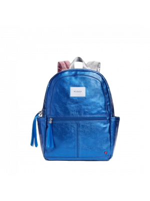 Kane Blue Metallic Backpack