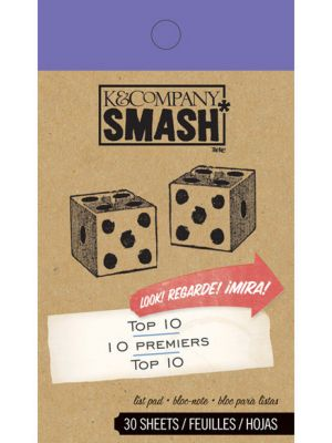 SMASH Top 10 Pad By