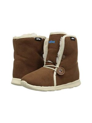 Luna Shearling Boots - Brown