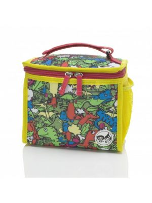 Dino Covered Lunch Bag