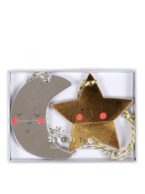 Moon and Star Gift Tags