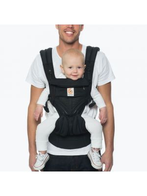 Omni 360 Mesh Baby Carrier - Pure Black