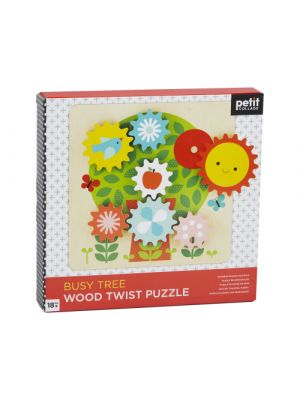 Busy Tree Wooden Puzzle