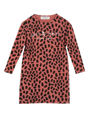 Pink Leopard Who's On Dress
