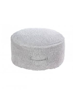 Chill Pearl Grey Pouf