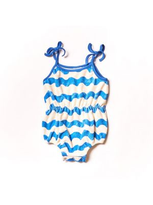 Waves Terry Romper