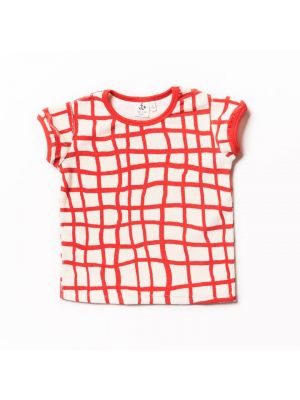 Red Tennis Terry Tee