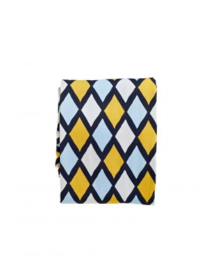 Harlequin Jester Fitted Sheet -Twin