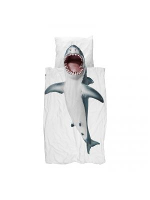 Shark Duvet Cover Set - Twin