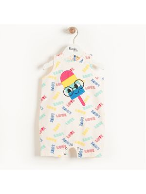 Short Ice Lolly Tank Romper