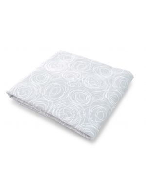 Spun Organic Fitted Crib Sheet