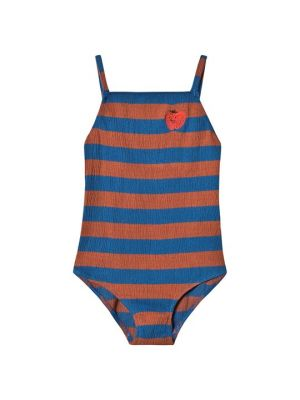 Striped Strawberry Swimsuit