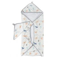 Born to Fly Hooded Towel