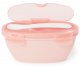 Coral travel bowl and spoon by skip hop