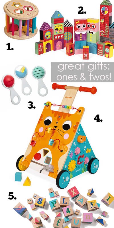 Cool toys for one and two year olds at babesta